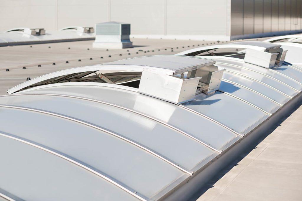 świetliki łukowe aluco skylight therm