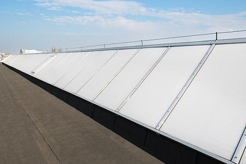 modernizacja świetlików dachowych