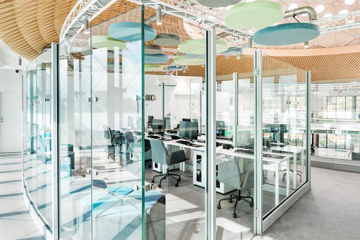 szklane ściany działowe pks kielce
