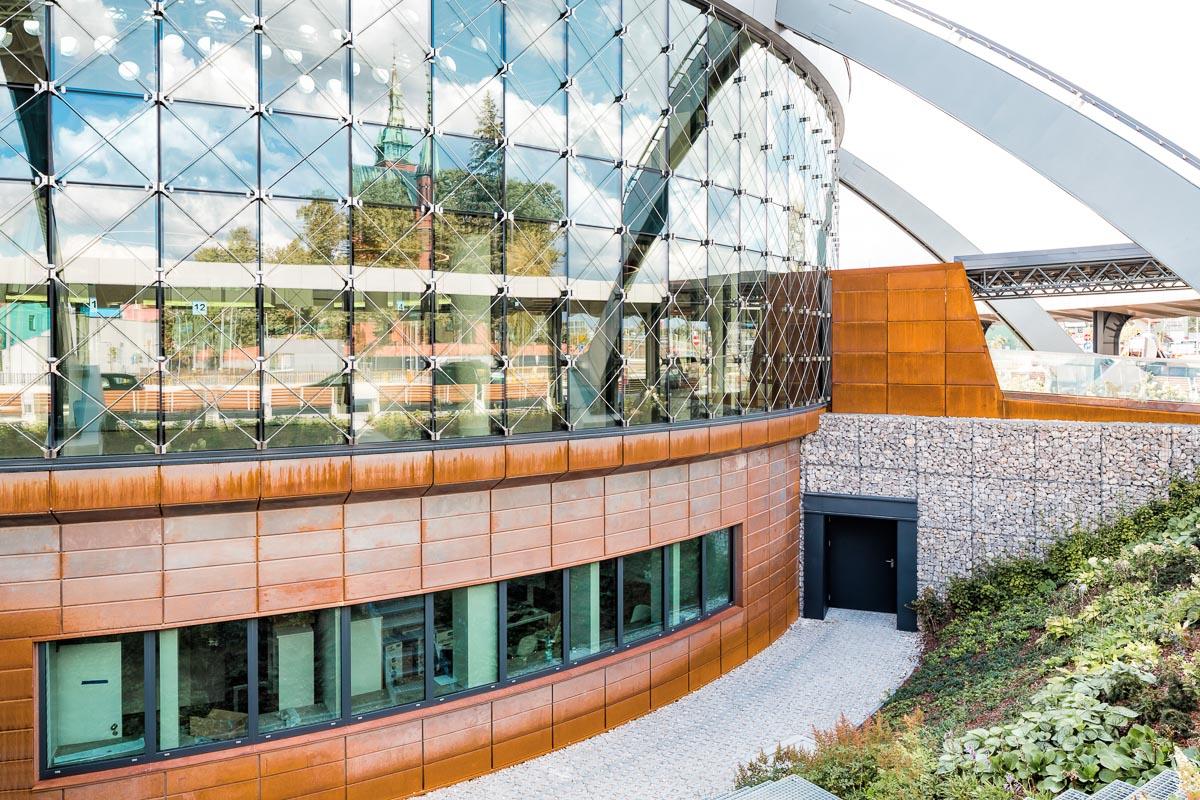 fasada aluminiowa szklana kielce pks dworzec