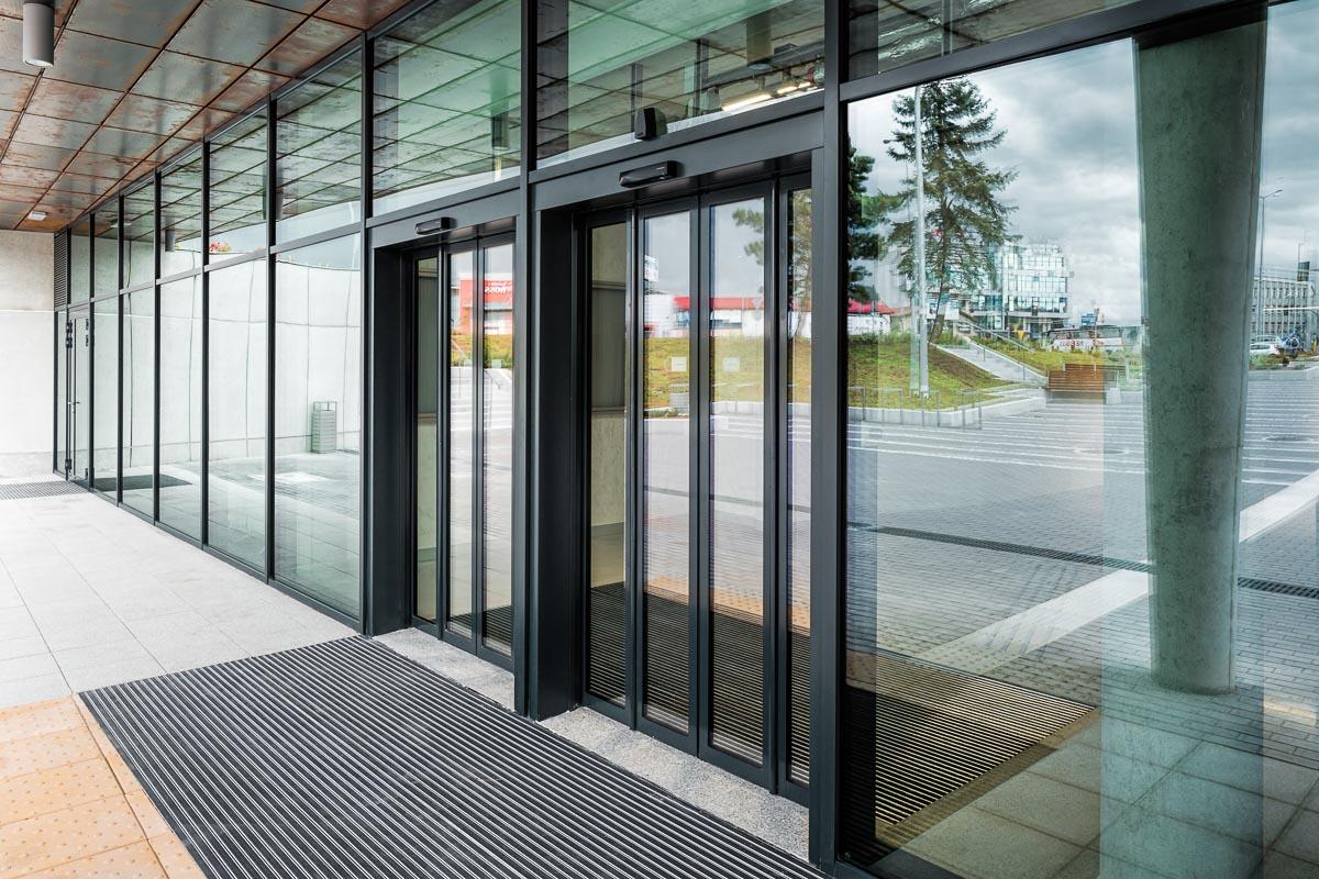 drzwi aluminoowe automatyczne kielce