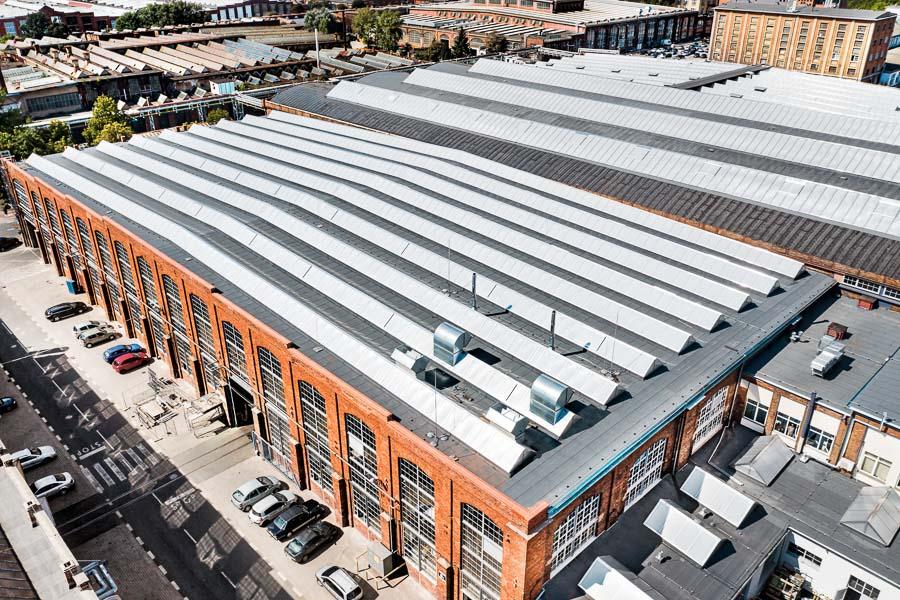 termomodernizacja świetlików dachowych